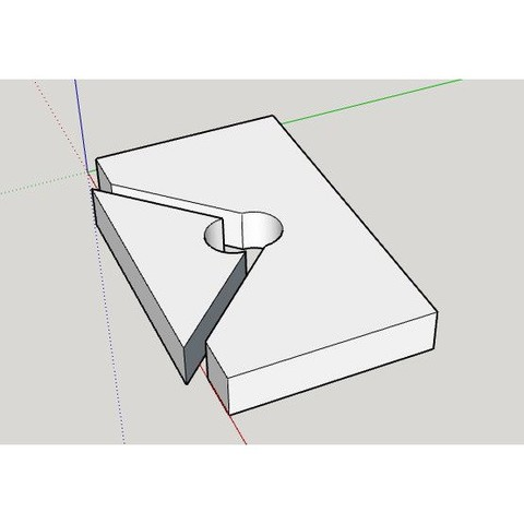 miter joint clamp3.jpg Download free STL file Simple Miter Joint Clamp (for picture frames) • 3D printing model, HowardB
