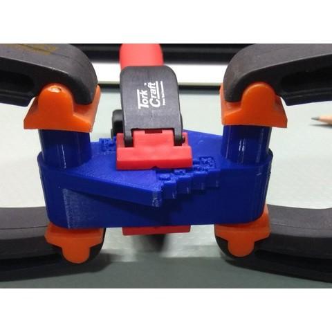 Rockler5.jpg Télécharger fichier STL gratuit Outil de marquage à décalage central de type Rockler (mm métrique) - avec aimants • Design imprimable en 3D, HowardB