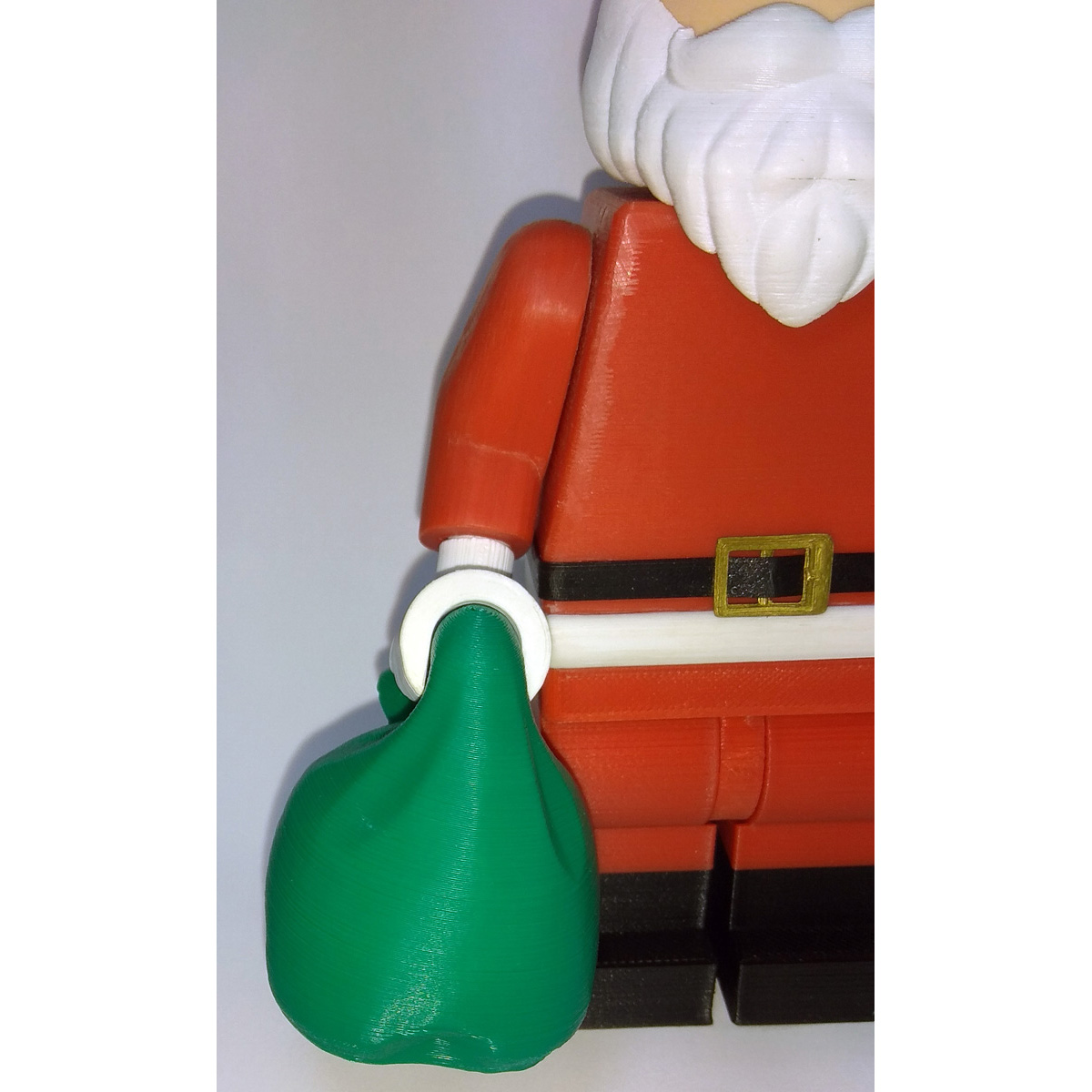 Lego_Minifig_-_Santa_Clause_9.jpg Download free STL file Jumbo Christmas - Santa Claus • 3D printer template, HowardB