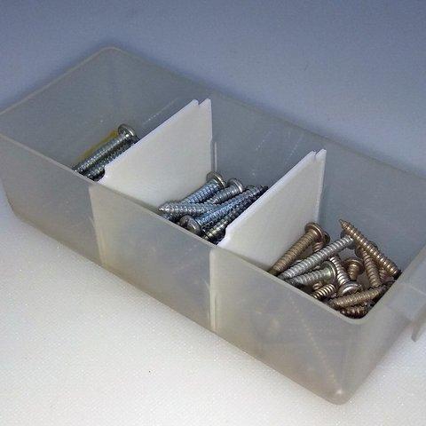 Free STL files Plastic 16-tray Utility Box Dividers, HowardB