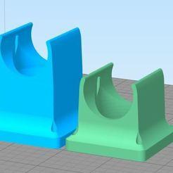 remix2.JPG Télécharger fichier STL gratuit E3D v5 Adaptateur de ventilateur 40mm - section de conduit plus longue • Plan à imprimer en 3D, HowardB