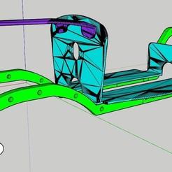 Download STL file Hotrod chassis • 3D printer design, claudio2809