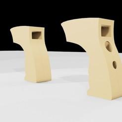 2 SHOT BACK.jpg Download STL file IR Thermometer • 3D printer template, siavashaghdaie
