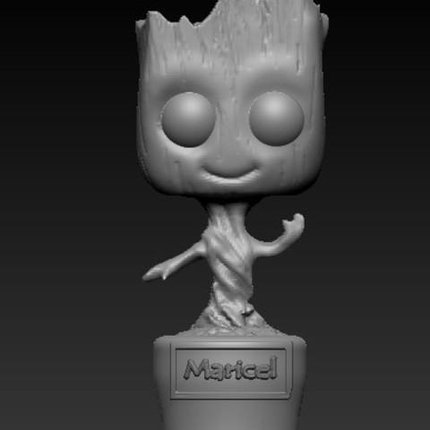 Download free STL file babygroot • Design to 3D print, beihh1988