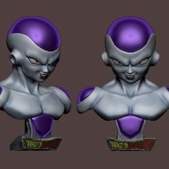 Descargar archivo 3D Bust Freezer Dragon Ball z, beihh1988