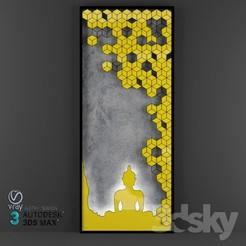 3D print files budha design, SUMITYADAV7829