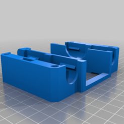 STEP_X-Max_Carriage_2_Belt_Retainers_Tensioner_v2.png Download free STL file Qidi X-Plus & X-Max Carriage BMG Extruder & Dragon or V6 Hot-End Mod-remix • 3D printing design, huberjer