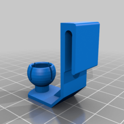 SwivelBall_Female_Base_3mm_Clip_v3_Unscaled_repaired.png Download free STL file Raspberry Pi Camera Swivel Mount with 3mm Clip-remix_repair • 3D print template, huberjer