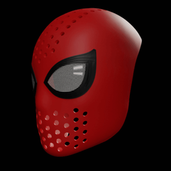 Download STL files Spiderman Homecoming Fce Shell, andrey_blend
