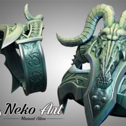 cgtrader.png Télécharger fichier STL Anillo Frostmourne • Modèle à imprimer en 3D, neko_art_96