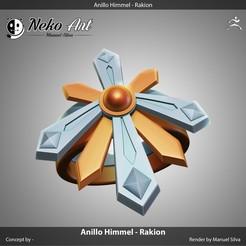 Download free 3D printer files Anillo Himmel - Rakion, neko_art_96
