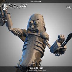 cults.png Download STL file pickle rick • Design to 3D print, neko_art_96