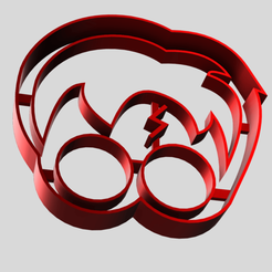 Harry Potter Face Cookie Cutter v2.png Download STL file Harry Potter Face Fondant/Cookie Cutter • 3D print design, dkn2610