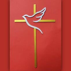 PicsArt_01-19-11.50.56.jpg Télécharger fichier STL Garniture de gâteau Dove Cross • Objet pour imprimante 3D, dkn2610