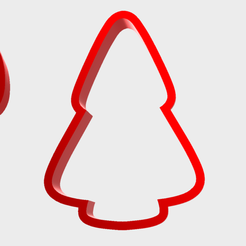 Christmas Cutter.png Download STL file Christmas Cookie Cutters • Template to 3D print, dkn2610