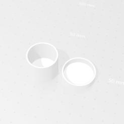 Descargar archivos STL gratis Caja circular simple, Th3King77