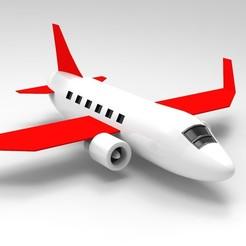 Download 3D model Airplane, Hunterxhunter