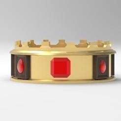 Download 3D model Crown-King Crown, MageHandStudio