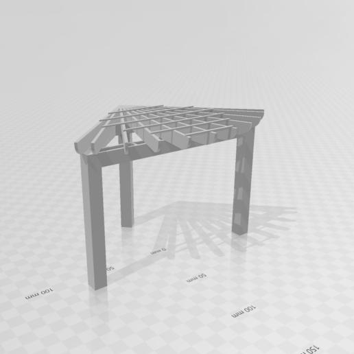 Screenshot (29).png Télécharger fichier STL gratuit Pergolas d'angle • Objet à imprimer en 3D, Preston_ac