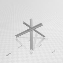 Télécharger fichier STL gratuit Barrière antichar • Objet pour impression 3D, Preston_ac