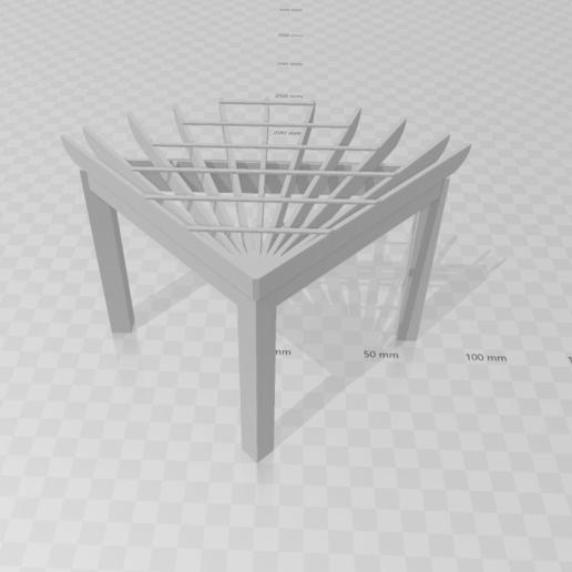 Screenshot (28).png Télécharger fichier STL gratuit Pergolas d'angle • Objet à imprimer en 3D, Preston_ac
