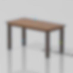Normal Table.stl Télécharger fichier STL gratuit Table simple • Modèle imprimable en 3D, Preston_ac