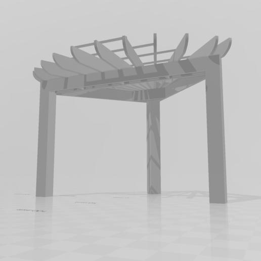 Screenshot (27).png Télécharger fichier STL gratuit Pergolas d'angle • Objet à imprimer en 3D, Preston_ac
