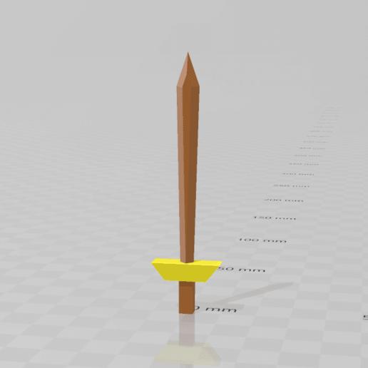 Screenshot (45).png Télécharger fichier STL gratuit RuneScape LongSword • Design pour imprimante 3D, Preston_ac