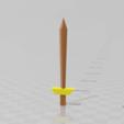 Télécharger objet 3D gratuit RuneScape LongSword, Preston_ac