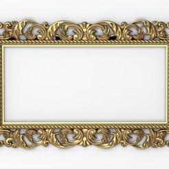 Download STL Frame Ornament, Villy3D