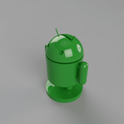 Free 3D printer model Android Moneybox, antoinemerlen94
