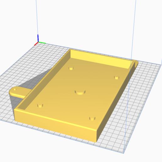 2020-02-16 (8).png Download free STL file Support batterie Mazda MX5 NA ( miata, eunos) • Template to 3D print, La__Paupiette