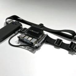 jetson_nano_utility-belt_detail_s.png Télécharger fichier STL gratuit Ceinture utilitaire Jetson Nano • Plan imprimable en 3D, mgannon