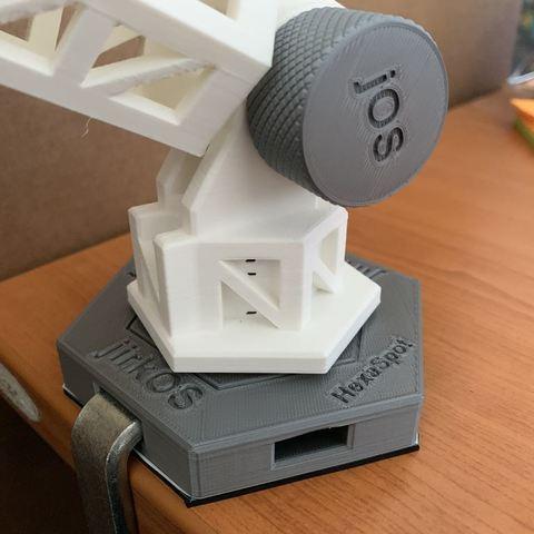 c9af10c9e62b5836340530fce20f14a4_display_large.jpg Download free STL file HexaSpot Lamp v1 • 3D printing object, marigu