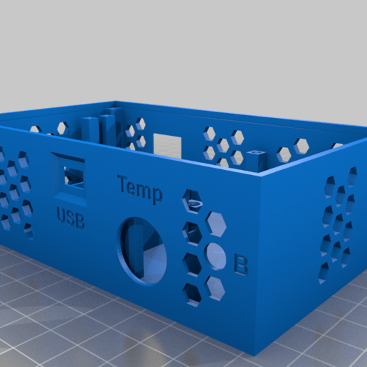 temp_meter_case_v2_5.png Download free STL file Temperature, humidity, lux meter with LAN • 3D print model, marigu