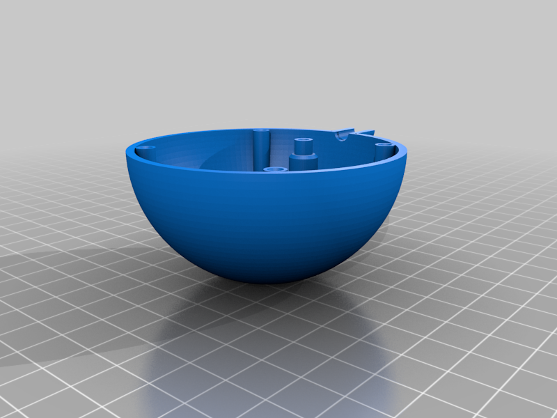 sensor_sphere_bottom_v2_2.png Download free STL file Temperature, humidity, lux meter with LAN • 3D print model, marigu