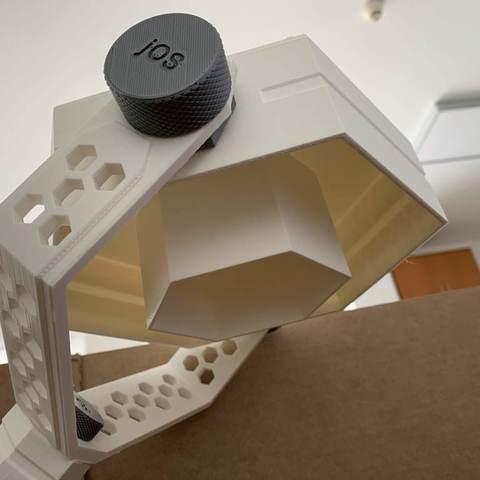 fc5213277792cf8ef82a76b779690091_display_large.jpg Download free STL file HexaSpot Lamp v1 • 3D printing object, marigu