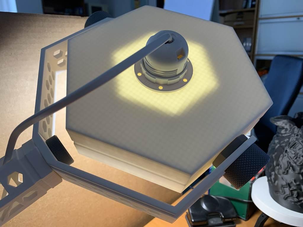 40fcb458d41de9df0bb2dda3043b97b6_display_large.jpg Download free STL file HexaSpot Lamp v1 • 3D printing object, marigu