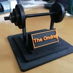 Imprimir en 3D gratis Soporte de peso, marigu