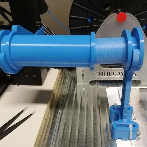 5d405b2d5e52c87bf6a898b3ad5d96d5_display_large.jpg Télécharger fichier STL gratuit Porte-bobine pour Anycubic I3 Mega - étendu • Plan pour imprimante 3D, marigu