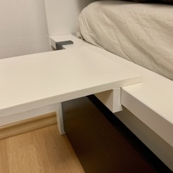 IMG_3439.jpg Download free STL file IKEA MALM bed small table • 3D printer model, marigu