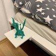 Télécharger objet 3D gratuit Petite table de nuit IKEA MALM, marigu