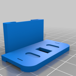 fridge_door_holder.png Download free STL file Whirlpool Refrigerator door holder • 3D print template, marigu