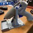 Download free 3D printer files Hot Glue Gun stand, marigu