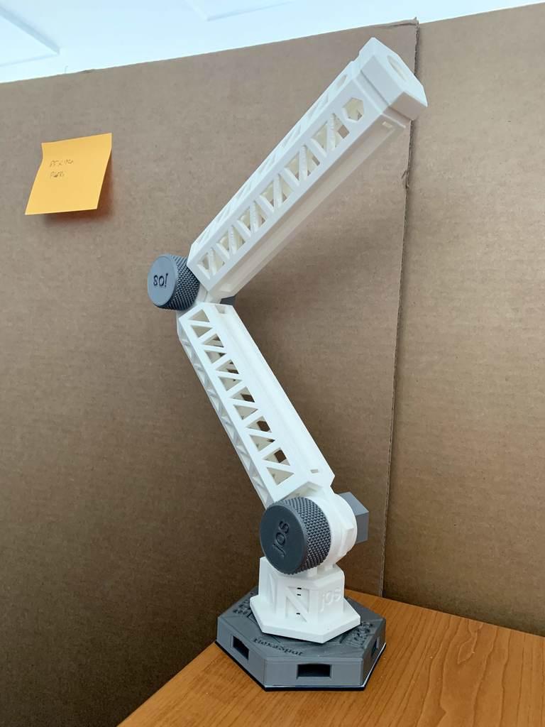 f8355b222b4540ed30e9380abd4a5a66_display_large.jpg Download free STL file HexaSpot Lamp v1 • 3D printing object, marigu
