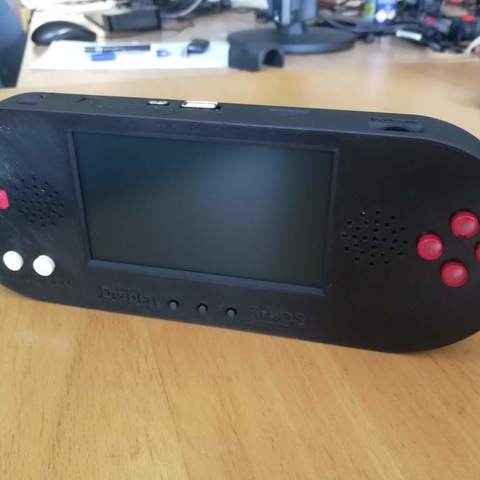 Download free STL Portable Raspberry Pi Game Console ・ Cults