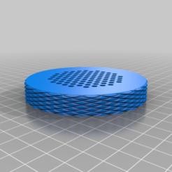 speaker_case_lid_top_v4.png Télécharger fichier STL gratuit Boîtier de haut-parleur • Plan pour imprimante 3D, marigu