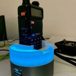 IMG_6988.jpg Télécharger fichier STL gratuit Chargeur de batterie Li-ion (Baofeng) • Design pour imprimante 3D, marigu
