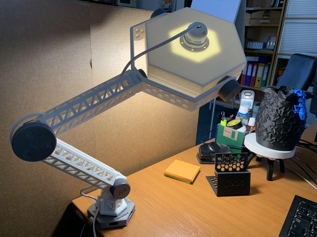 52319770ad3b94eb8beb2f098abce87e_display_large.jpg Download free STL file HexaSpot Lamp v1 • 3D printing object, marigu