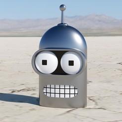 Descargar modelos 3D gratis Bender Wall Piece (Máscara), Antiphrasis